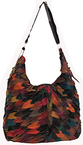 AmeriLeather Zoe Hobo (Rainbow)