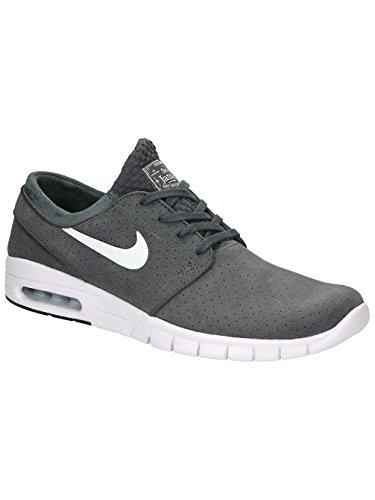 Nike Herren Stefan Janoski Max L Skaterschuhe Gris (dark grey/white-black-white)