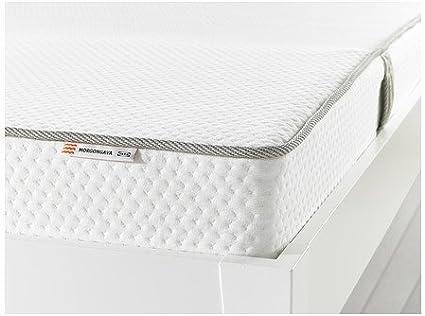 Colchón de látex natural Ikea MORGONGAVA de tamaño mediano y ...