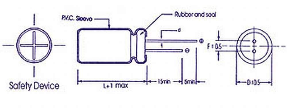 Velleman GEMMY 33J0E ELKO radial 33/µF 35V 139334