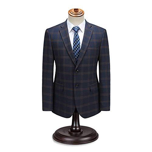 Blazer Longues Décontractée Manches Fit Slim Vestes Moderne D'affaires Élégant Hommes Blau Veste Loisirs À ZZUqr