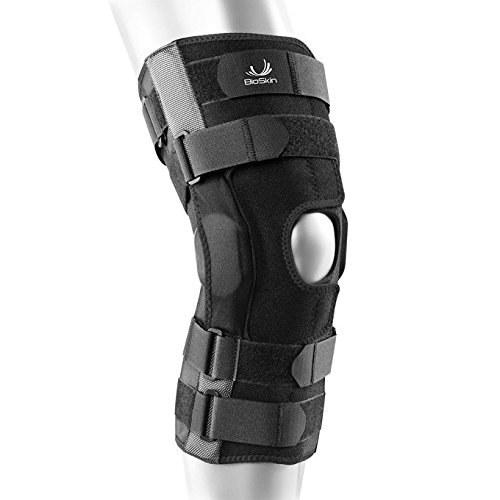BioSkin Gladiator Knee Brace - Adjustable Hinged Knee Brace for ACL, MCL, LCL, PCL and General Knee Support