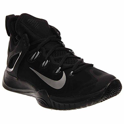 online retailer 18286 8aa8b Galleon - NIKE Men s Zoom Hyperrev 2015 Black Metallic Silver Basketball  Shoe 11.5 Men US