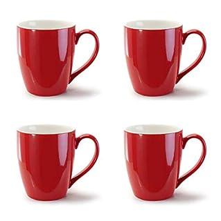 BIA Cordon Bleu 15 ounce Red Coffee Mugs -Set of 4 (B00CJICC9I) | Amazon price tracker / tracking, Amazon price history charts, Amazon price watches, Amazon price drop alerts