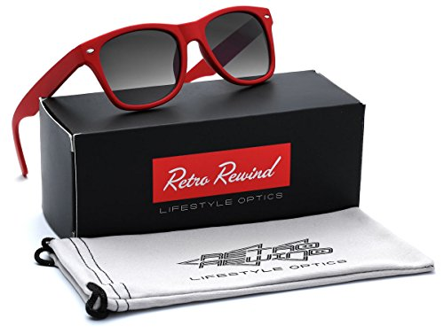 KIDS AGE 3-12 Wayfarer Style Sunglasses with Frame - - 90s Style Sunglasses