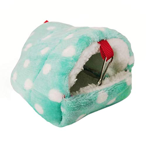 TeDUnaxxme Pet Bed Mini Hamster Hedgehog Warm Chinchilla Guinea Pig Nest Small Animal House