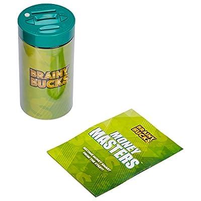 Brainy Bucks Bill and Coin Money Jar: Toys & Games