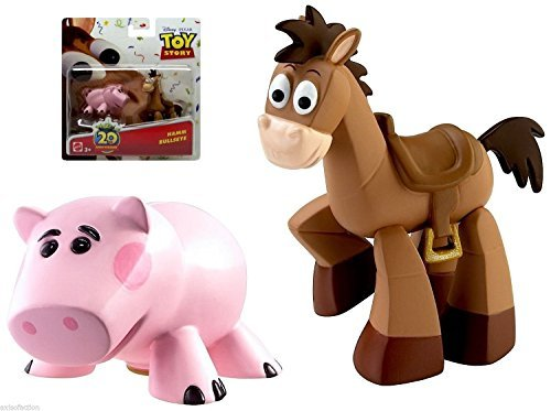 Disney / Pixar Toy Story 20th Anniversary Dr. Pork Chop and Bullseye Figure Buddy 2-Pack [parallel import goods]