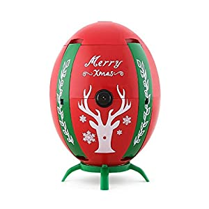 Neweat Christmas folding Four-axis Drone,JJRC H66 RC Quadcopter With WIFI FPV Altitude Hold 720P HD Camera,Flying Superman Egg Drone With LED Light (Red)