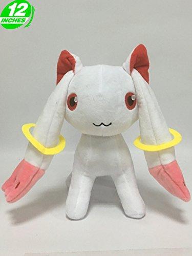 Anime Puella Magi Madoka Kyubey Plush Doll ()