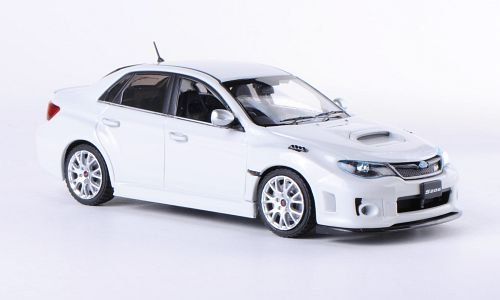 Subaru Impreza S206, weiss, Modellauto, Fertigmodell, Ebbro 1:43