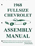 1968 Chevrolet Assembly Manual Impala SS Biscayne Caprice Bel Air