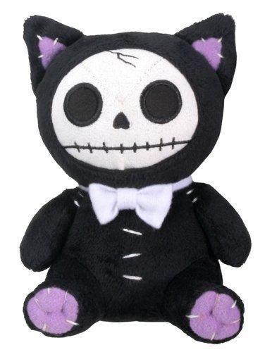 Exxtra Store Summit Black Mao Mao Small Plush Cat Furry Bones Soft Toy Halloween