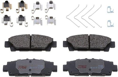 - TRW Black TPC0488 Premium Ceramic Rear Disc Brake Pad Set