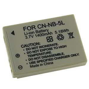 eForCity NB-5L Battery Compatible with Canon Powershot SD850 SD870 SD950 IS