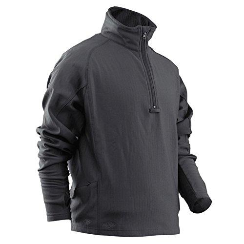 - TRU-SPEC Men's 24-7 Series Zip Thru Grid Fleece Pullover, Grey, X-large