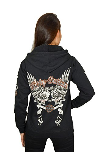 Harley Bling Full Zip Hoodie