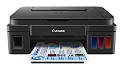 Meet the Canon PIXMA G4210 Wireless Mega Tank All-In-Printer, built for getting serious printing done. The PIXMA G4210 makes printing cost-effective and hassle-free, thanks to its innovative Mega Tank Ink system which can deliver up to 6, 000...