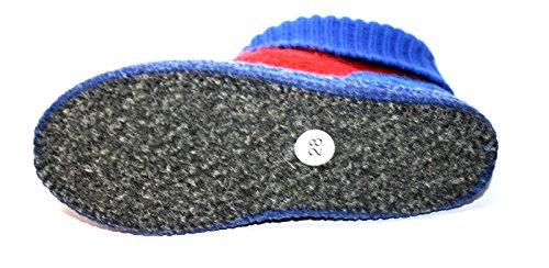 Walkstoff , Chaussons pour fille Bleu Bleu 28