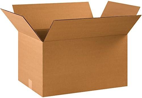 BOX USA B22141240PK Corrugated Boxes Kraft Pack of 40 22 L x 14 W x 12 H