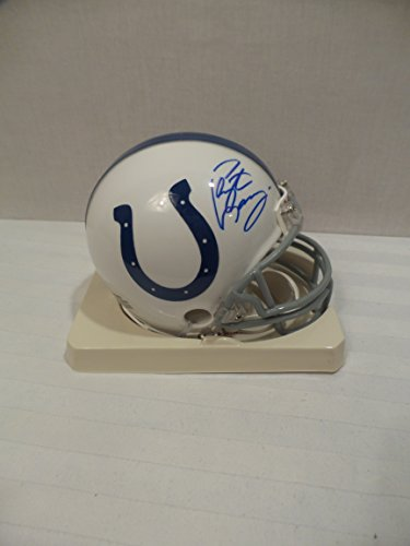 - Peyton Manning Signed Indianapolis Colts Autographed Riddell Mini Helmet Certified Authentic Autograph