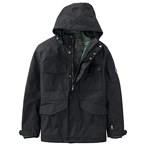 Parka A Capuche Timberland Ragged Mountain Noir Homme
