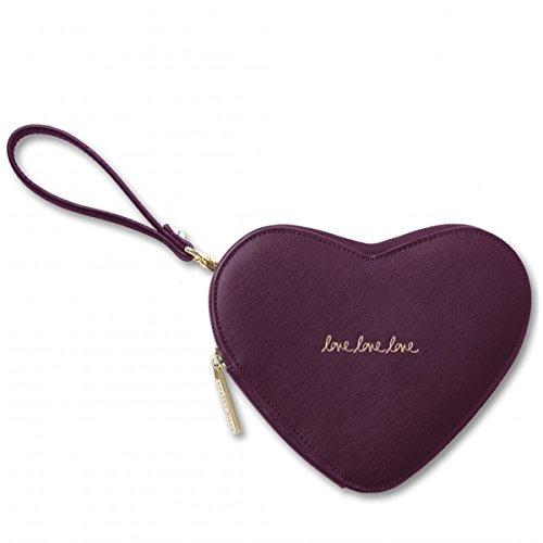 Pouch Loxton Katie Heart Burgundy Love x7fA8Yan