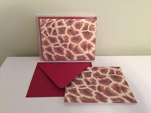 - KELLY KAY Giraffe Folded Notes, Set of 10