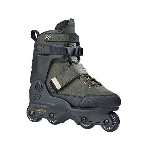規定論理的に撤退K2 Skate Unnatural Inline Skates Size 7.5 Black/Black/Gold [並行輸入品]