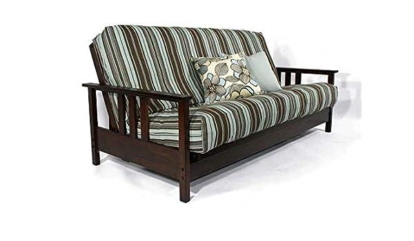 Amazon Com Strata Furniture Durango Dark Cherry Queen Wall
