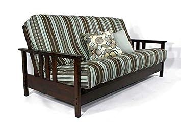 Remarkable Amazon Com Strata Furniture Durango Dark Cherry Queen Wall Machost Co Dining Chair Design Ideas Machostcouk