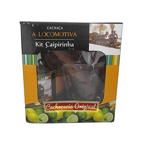 Cachaça A Locomotiva kit caipirinha
