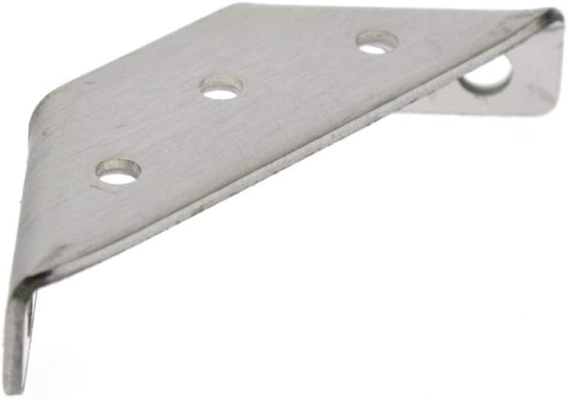 Thickened Stainless Steel Corner Code Fixed Corner Bracket Support on Three Sides Hardware Accessories