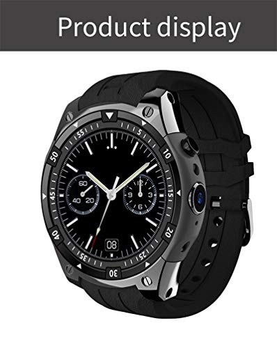 Bond 3G Smart Watch X100 MTK6580 Android 5.1 Dual Core Heart Rate GPS WiFi Smartwatch for iOS&Android Phone Watch (BLACK)