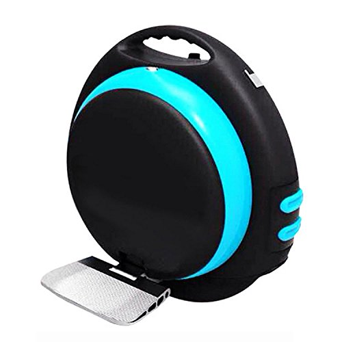 Muzeli Self Balanced Electric Scooter One Person Standing Unicycle Electric Unicycle Smart Wheels Personal Transporter Intelligent Balance Car with Bluetooth Speaker Black+blue