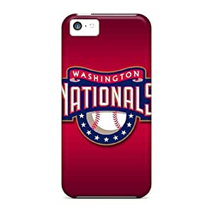 Hot Fashion XFG20551TZIG Design Cases Covers For Iphone 5c Protective Cases (washington Nationals)