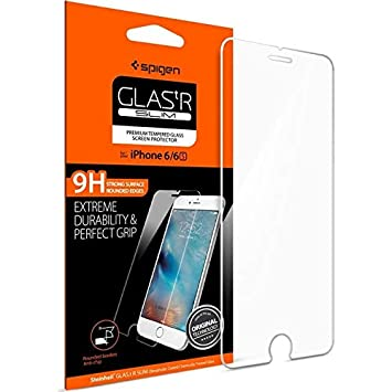 buy online a1583 1936b Spigen screen protector for iPhone 6 plus/6S Plus, [Glass