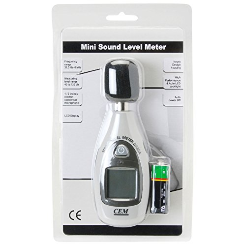 Amazon.com: Mini Digital Sound Level Meter by Parts Express: Home ...