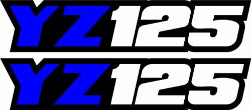 Yz125 Arm Swing (Yamaha Yz125 Swingarm Airbox Number Plate Decals Stickers Yz 125 Graphics Dirtbike)