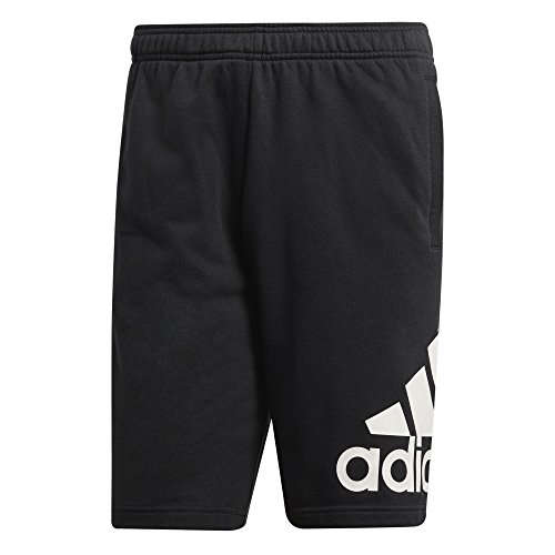 - adidas Men's French Terry Short (Large) Black
