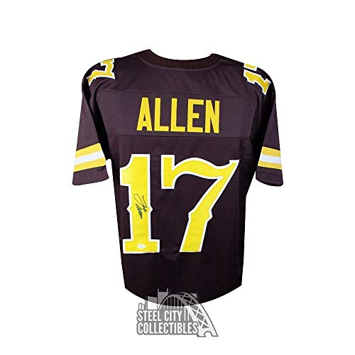 size 40 3b27f 54a8e Wyoming Cowboys Autographed Jersey, Wyoming Signed Jersey