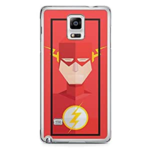 Flash Samsung Note 4 Transparent Edge Case - Street Fighter Polygonal Collection