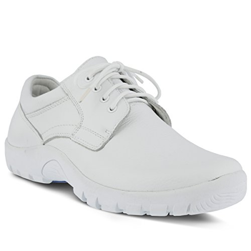 Spring Stap Mens Berman Oxford White