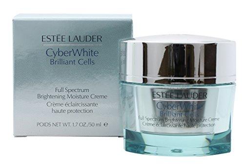 - Estee Lauder Cyber White Brilliant Cells Full Spectrum Brightening Moisture Creme 50ml/1.7oz
