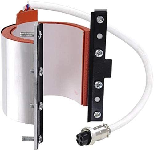 Mug Press Attachment Stainless Steel 12oz Mug Attachment for Heat Press Machine