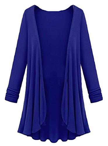 en Les lgant Manches Longues Vtements Mode Uni Tricot Manteau Jours Manche Noir Automne Tricot Femme Plier Manteaux Pullover Branch Irrgulier Tous Top FCdfIwqI