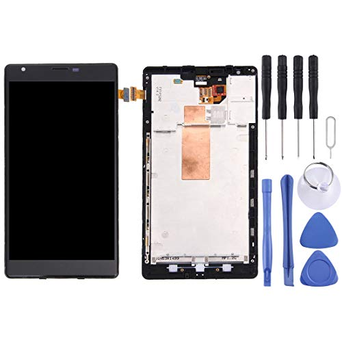 Ruanmaoshi Repair & Spare Parts LCD Display + Touch Panel with Frame for Nokia Lumia 1520 (Black)