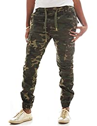 Women's Stretch Twill Cargo Jogger Pants