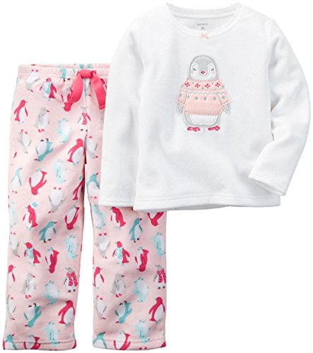 Carter's Baby Girls' 2 Piece Pj Set - Penguin - 12 Months