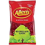 Allens Red Frogs Alive Lollies 1.3 Kg Bulk Lollies Candy Buffet Party Favours Sweets Allen's Candy